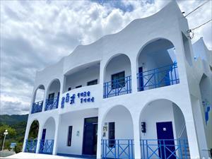藍白式度假民宿